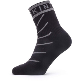 Sealskinz Waterproof Warm Weather Ankle Length Socks with Hydrostop grey